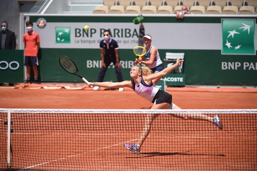 Katerina Siniakova, Barbora Krejcikova, Roland-Garros 2021, semi-final