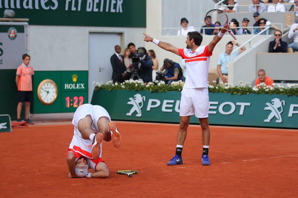 Fabrice Martin Jérémy Chardy Roland-Garros 2019