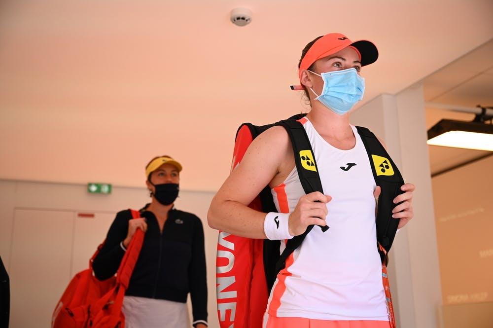 Anastasia Pavlyuchenkova, Tamara Zidansek, Roland-Garros-2021, semi-final