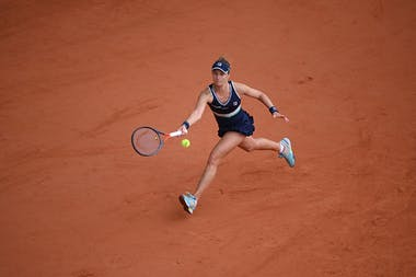 Nadia Podoroska, Roland-Garros 2020, quarts de finale