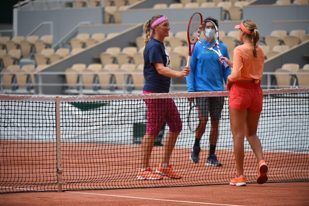 Sofia Kenin, Timea Babos, Roland-Garros 2020
