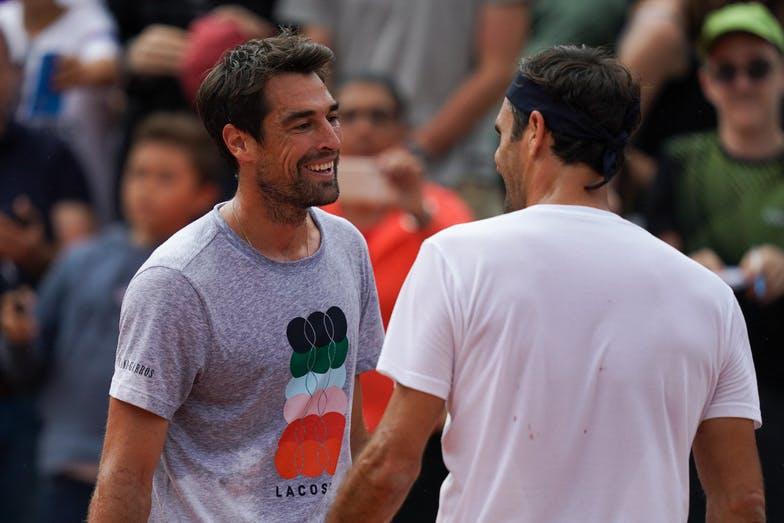 Roger Federer - Jérémy Chardy - Roland-Garros 2019 - Les Enfants de Roland-Garros