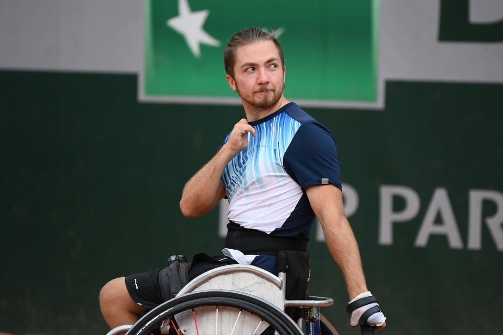 Sam Schroder, Roland Garros 2020, Quad Wheelchair Men's Singles - 3rd place