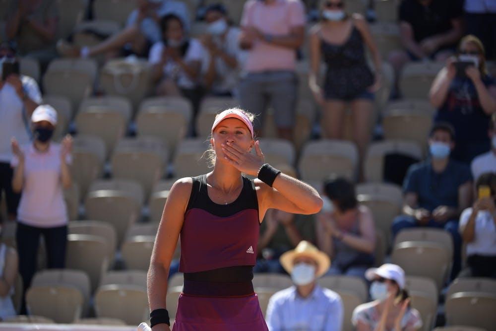 Kristina Mladenovic, Roland Garros 2021, first round