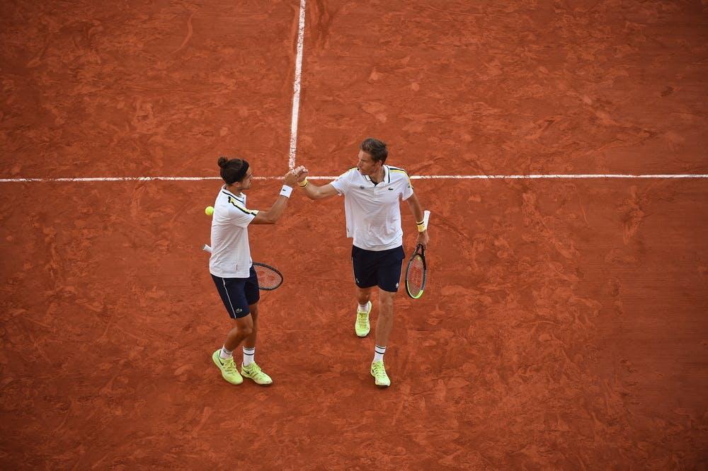 Pierre-Hugues Herbert Nicolas Mahut Roland Garros 2021