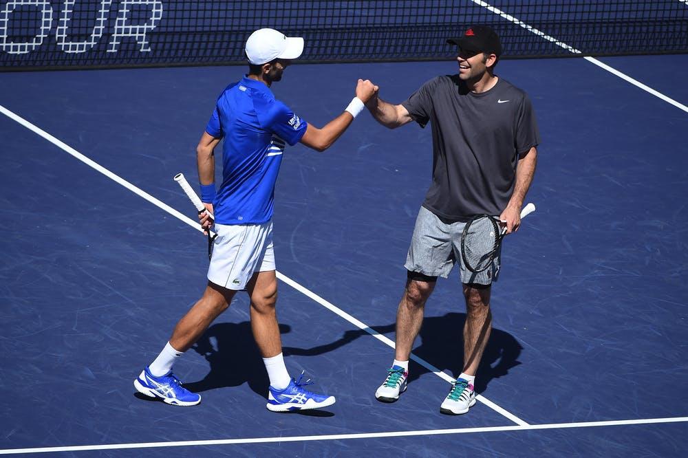 Djokovic Sampras Indian Wells 2019