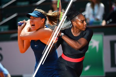 Serena Williams Maria Sharapova 3e tour Roland-Garros 3rd round.