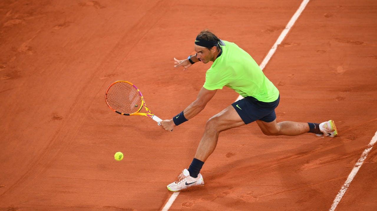 Rafael Nadal, Roland-Garros 2021, semi-final