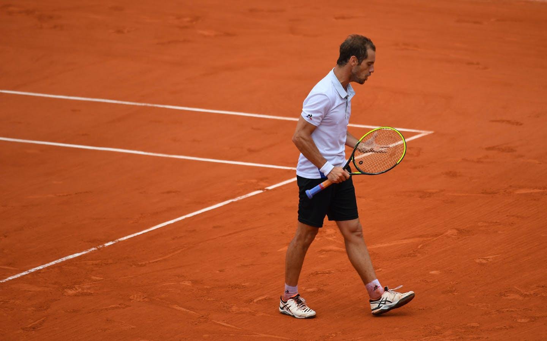 Richard Gasquet, Roland Garros 2018, Simple Messieurs, 3eme Tour
