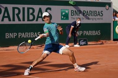 Kei Nishikori Roland-Garros 2021