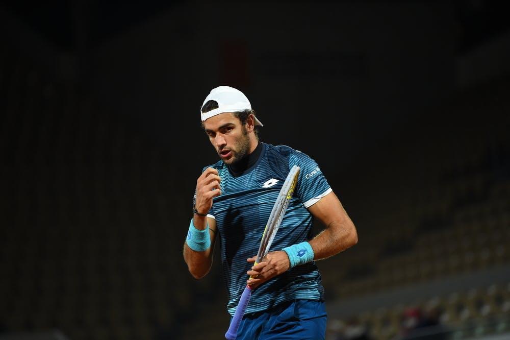 Matteo Berrettini, Roland-Garros 2020, 2e tour