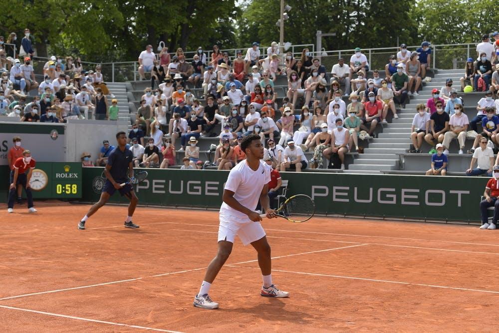 Giovanni Mpetshi Perricard, Arthur Fils, Roland-Garros 2021, boys' doubles final