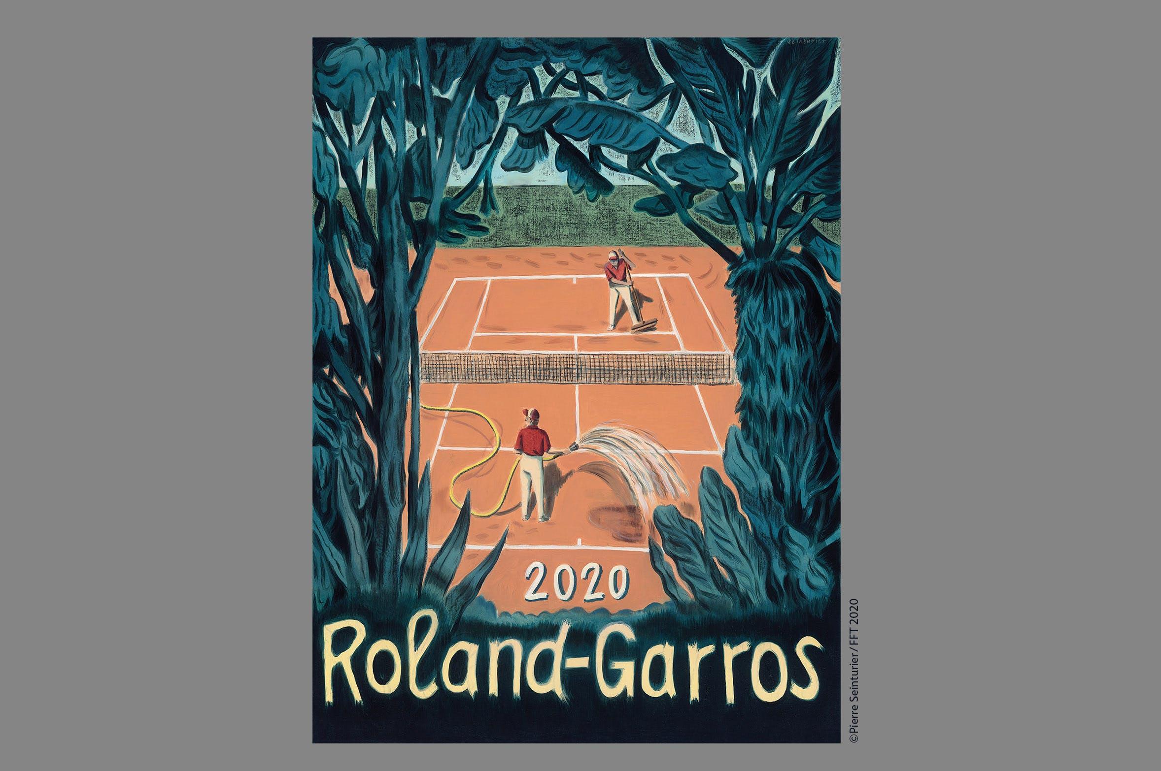 Roland-Garros 2020 poster