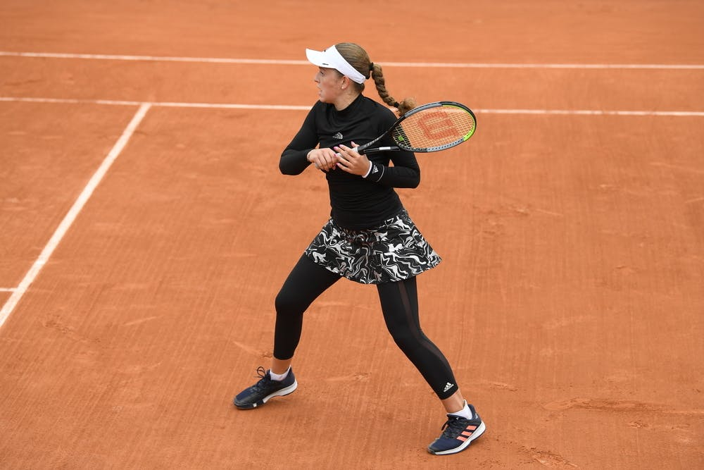 Jelena Ostapenko, Roland Garros 2020, first round