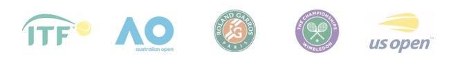 Logos ITF / Grand Slam
