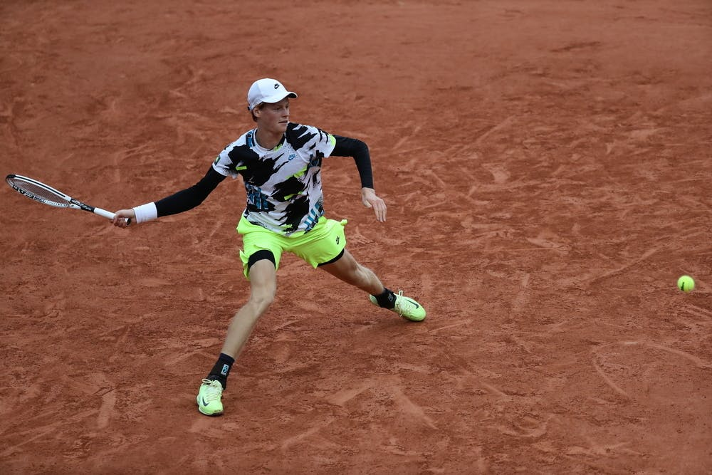 Jannik Sinner, Roland Garros 2020, third round