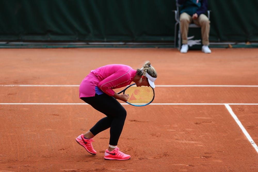 Marta Kostyuk, Roland Garros 2020, qualifying final round