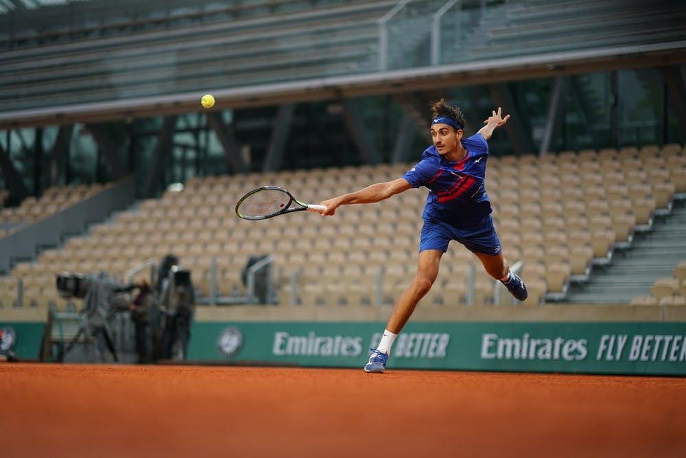 Lorenzo Sonego, Roland Garros 2020, third round