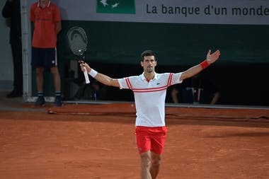 Novak Djokovic / Roland-Garros 2021