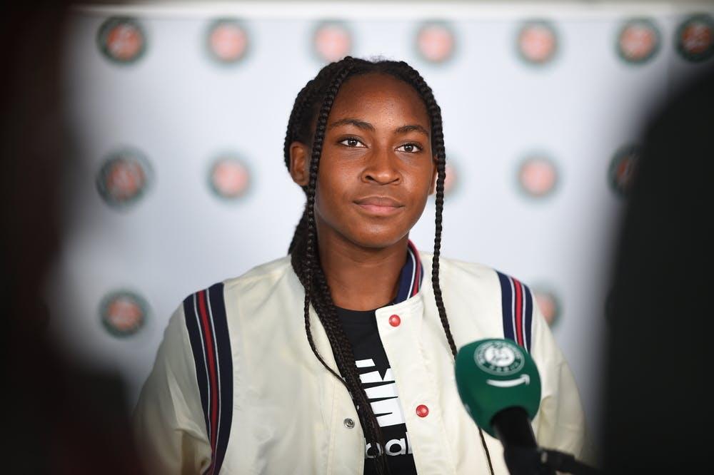 Coco Gauff, Media Day Roland-Garros 2021