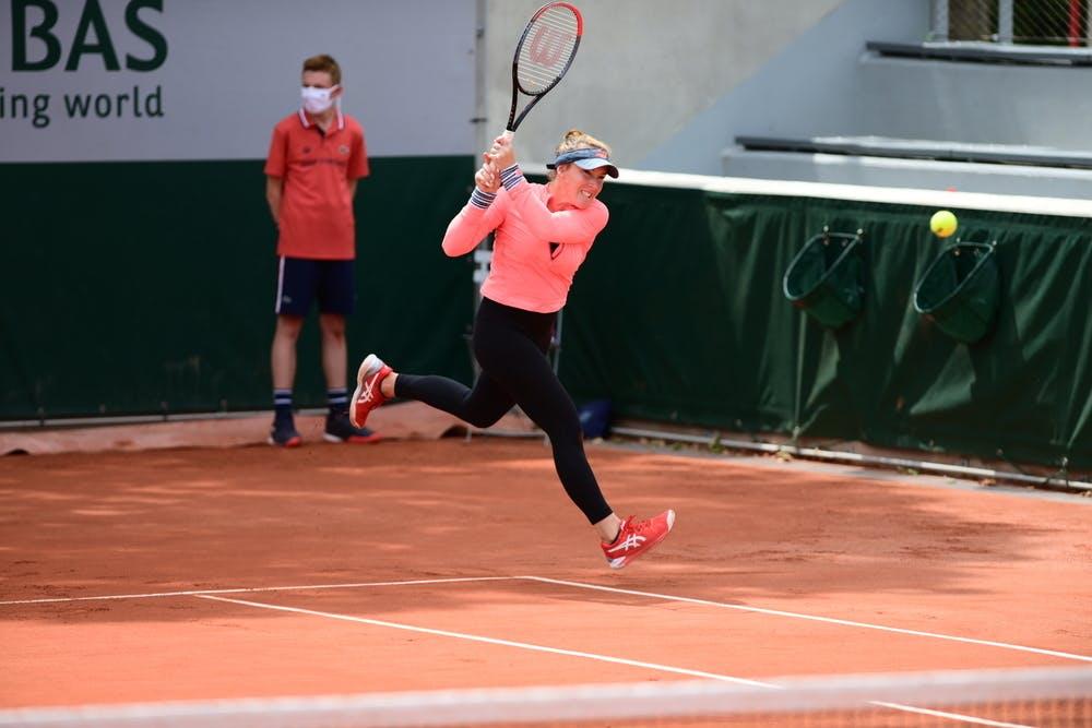 Madison Brengle, Roland Garros-2021, women's doubles first round