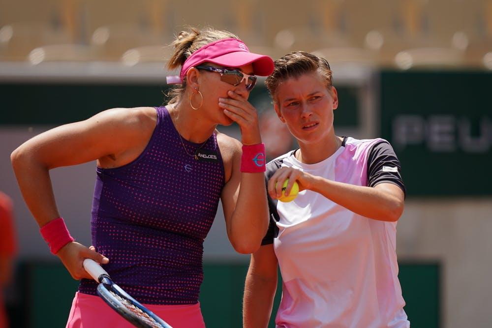Nicole Melichar, Demi Schuurs, Roland-Garros 2021, women's doubles third round