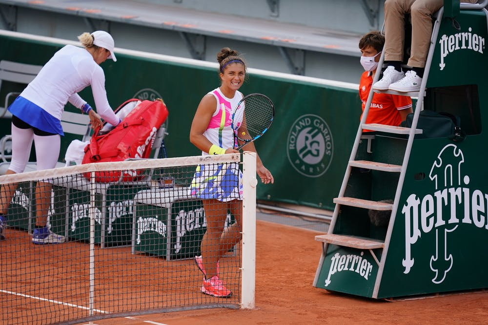 Sara Errani, Roland Garros 2020, qualifications