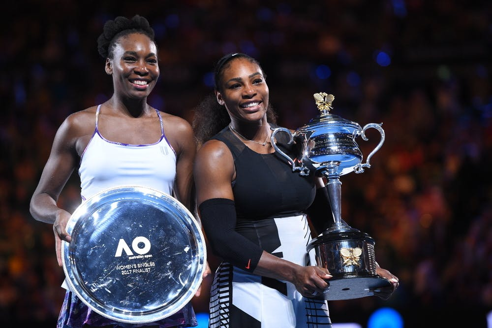 Venus and Serena Williams Australian Open 2017