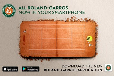 Roland-Garros 2018 Paris download official application.
