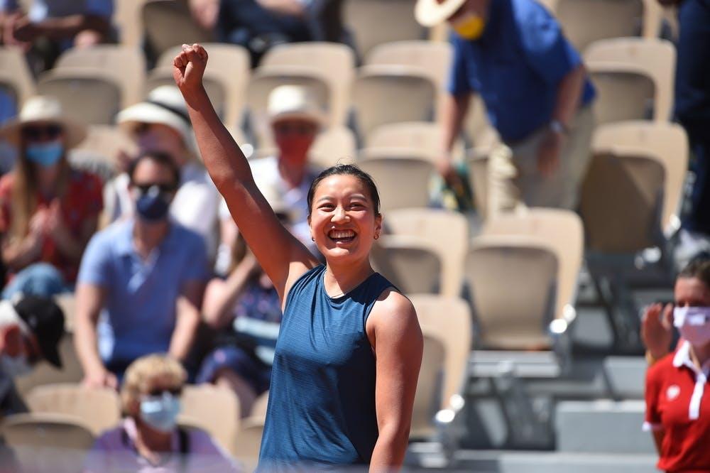 Harmony Tan, Roland Garros 2021, first round