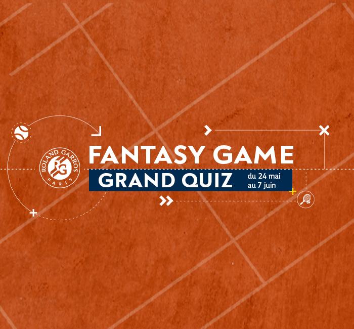 Quiz Roland-Garros Fantasy Game