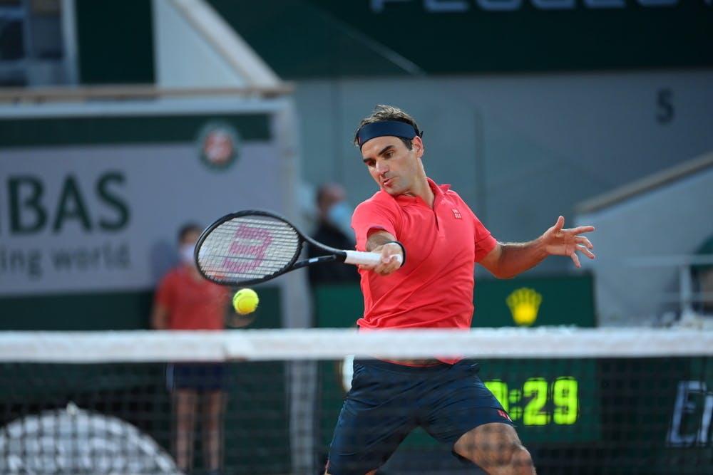 Roger Federer, Roland Garros 2021, third round
