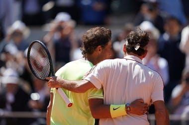 Rafael Nadal et Roger Federer