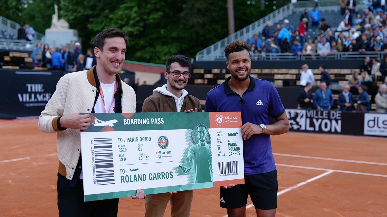 Roland-Garros eSeries by BNP Paribas - Thibaut Karmaly - Jo-Wilfried Tsonga - Norman Chatrier