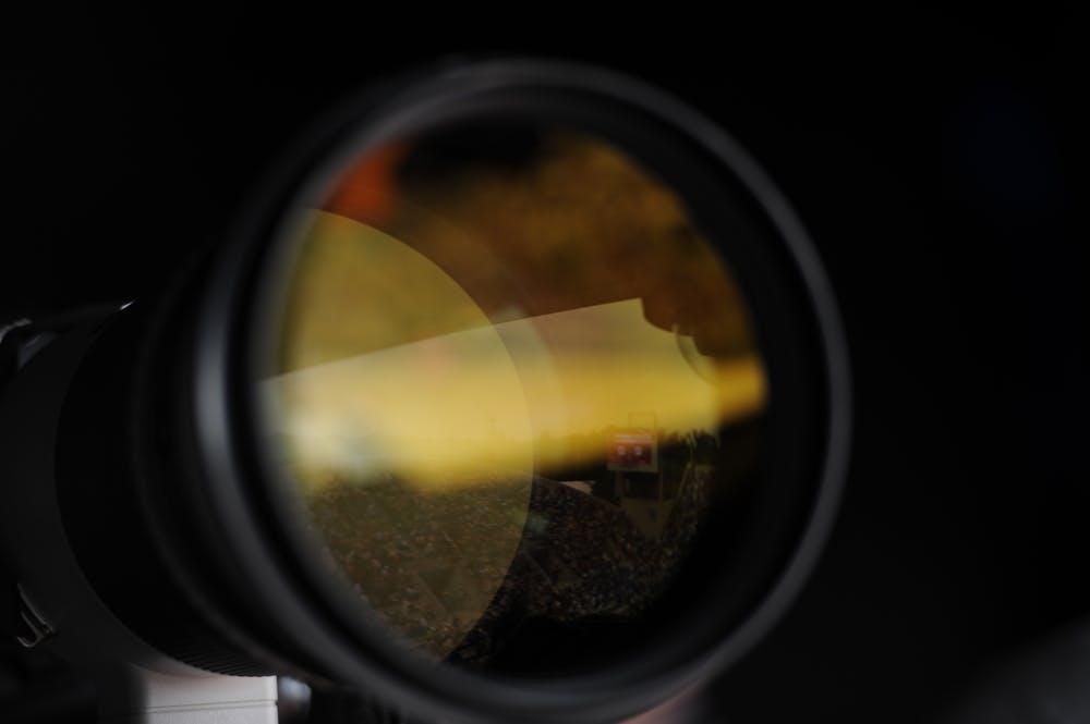objectif appareil photo Roland-Garros