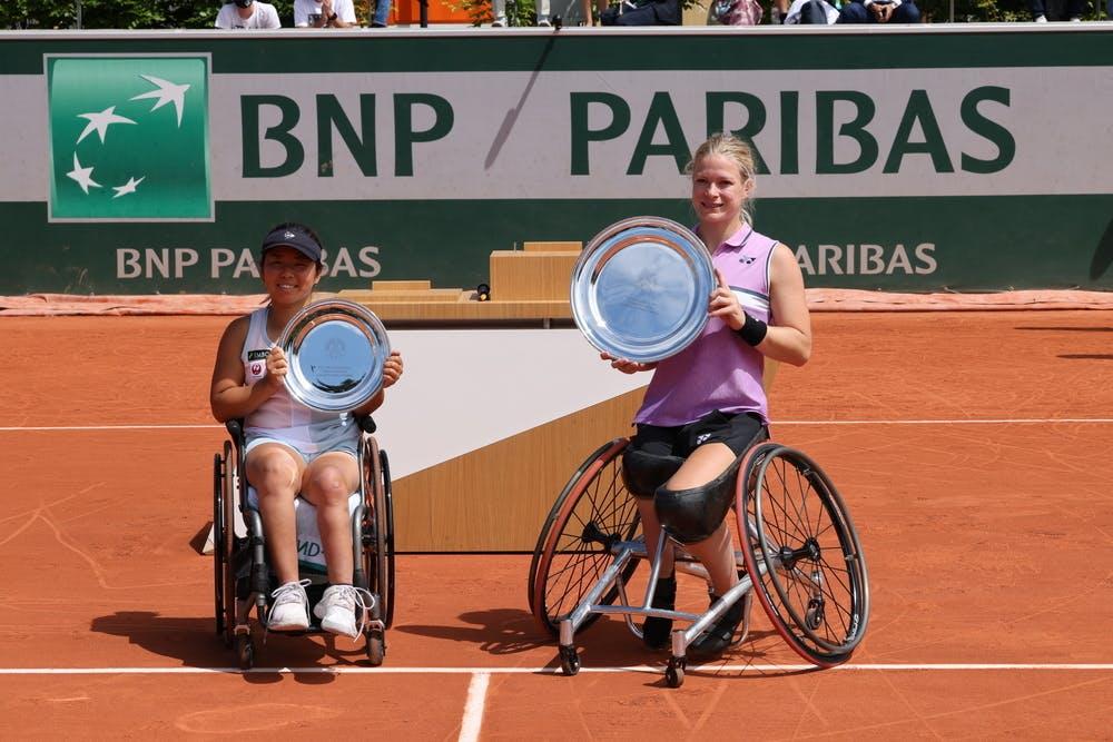 Yui Kamiji, Diede De Groot, Roland-Garros 2021, Tennis Fauteuil Simple Dames, Finale