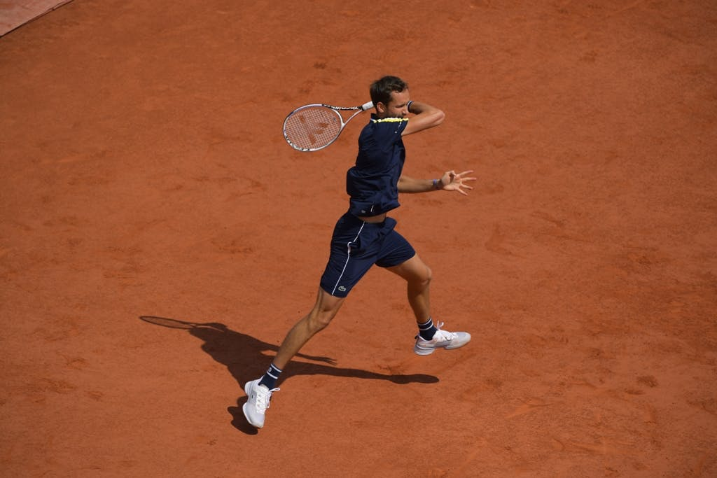 Daniil Medvedev, Roland Garros 2021, fourth round