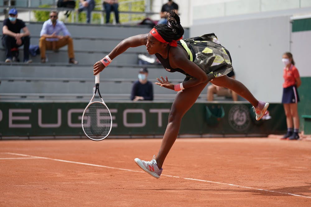 Coco Gauff, Roland-Garros 2021, second round