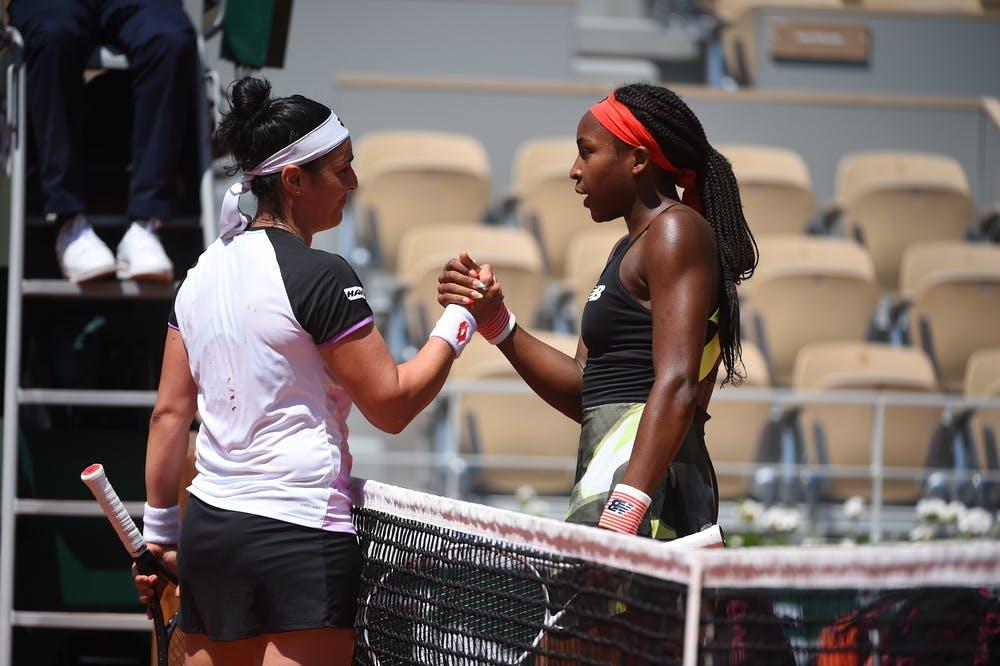 Coco Gauff, Ons Jabeur, Roland Garros 2021, fourth round