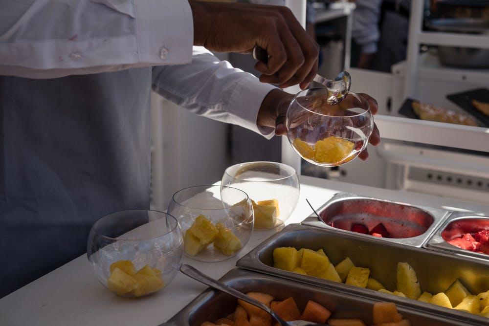 Fruits Jardin des Mousquetaires Roland-Garros
