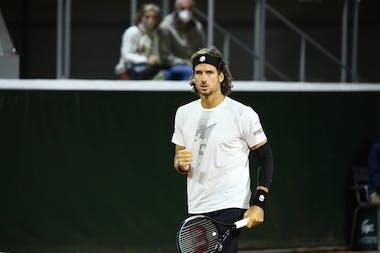 Feliciano Lopez, Roland Garros 2020, doubles first round