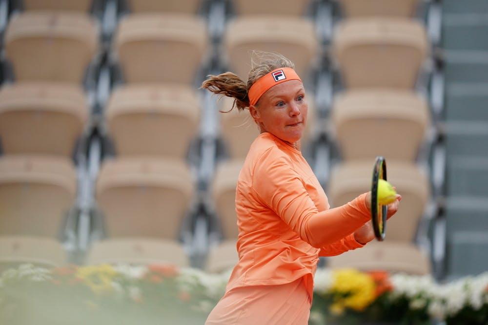 Kiki Bertens, Roland Garros 2020, first round