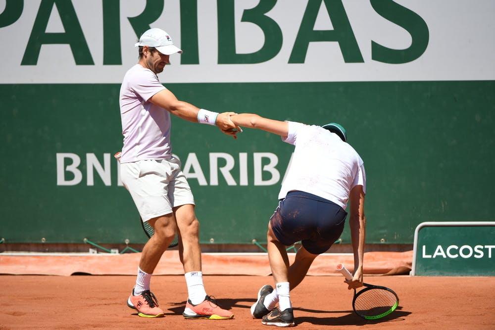 Dusan Lajovic, Filip Krajinovic, Roland Garros 2021, doubles first round