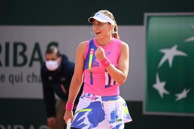 Paula Badosa Gibert, Roland Garros 2020, second round