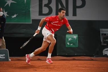 Novak Djokovic, Roland Garros 2020, semi-final