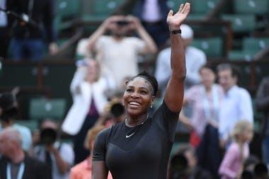 Serena Williams Roland-Garros 2018 2e tour.