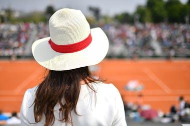 ambiance Roland-Garros courts annexes 2018.
