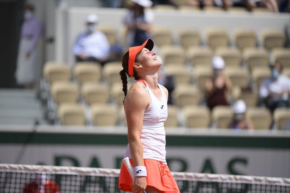 Tamara Zydansek, Roland-Garros 2021, last 16