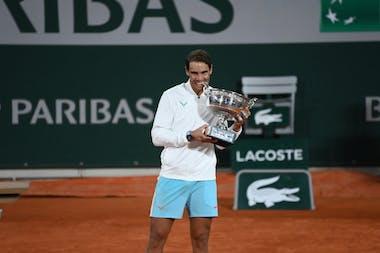 Rafael Nadal, Roland Garros 2020, final, trophy