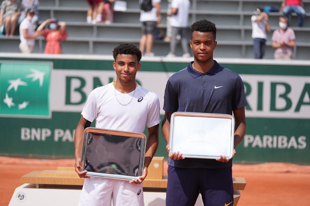 Arthur Fils, Giovanni Mpetshi Perricord, Roland-Garros 2021, boys' doubles final